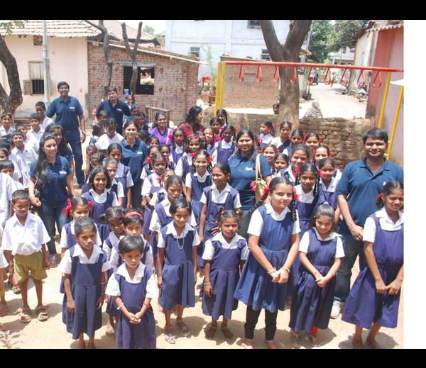 Group with Children