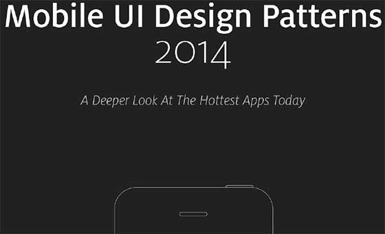 Mobile UI Design Patterns 2014
